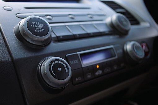 Audio, Car Audio, Radio, Volume, Buttons, Car, Interior