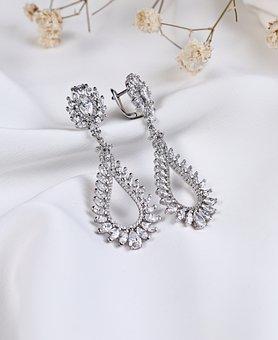 Silver Jewelry, Silver Earring, Jewelry Silver
