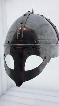 Viking, Helm, Knight, Armor