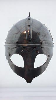 Viking, Helm, Knight, Middle Ages