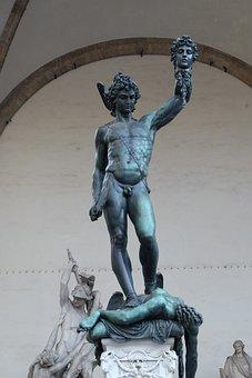 Perseus, Medusa, Main, Florence
