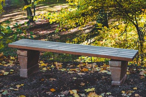 Park Bench, Bank, Park, Sit, Seat, Bench, Rest, Nature