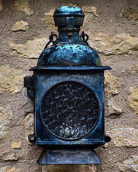 Antique, Lantern, Lamp, Ancient, Aged, Old