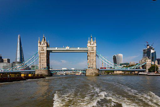 London, River Thames, England, Architecture