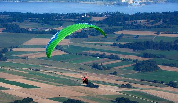 Paragliding, Paraglider, Sport, Entertainment, Nature
