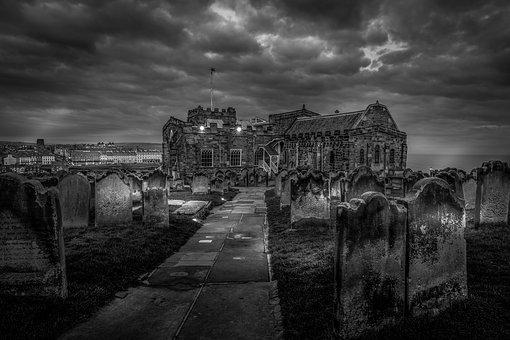 St Mary's Church, Whitby, Yorkshire, Historic, Gothic
