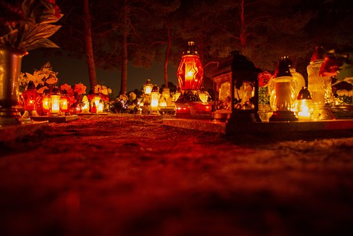 Night, Cemetery, The Tomb Of