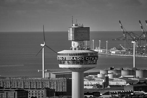 Liverpool, Beacon, Tower, Radio, Coast, City
