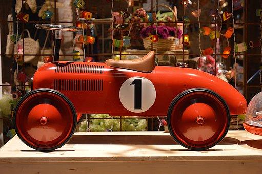 Car, Vintage, Toy, Retro, Collection, Child