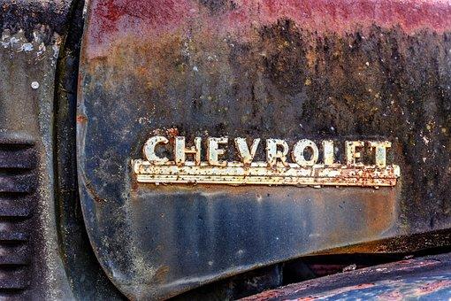 Chevrolet, Truck, Vehicle, Vintage, Oldtimer, American