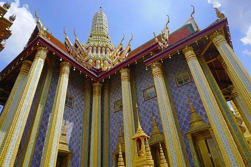 Wat Phra Kaew, Grand Palace, Buddhism, Temple, Thai