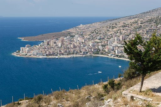 Lekursi, Castle, Hill, Mountain, Albania, Saranda