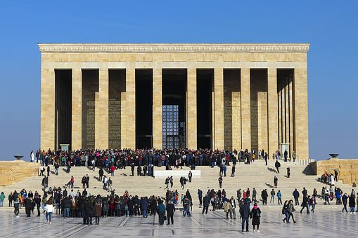 The Mausoleum Of Ataturk, Atatürk, Mausoleum, Turkey