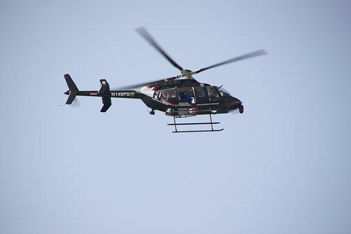 Helicopter, Air, Plane, Aviation, Transport, Flight
