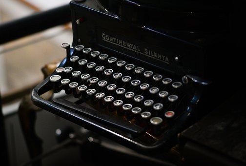 Old, Typewrite, Black, Typewriter, Vintage, Write