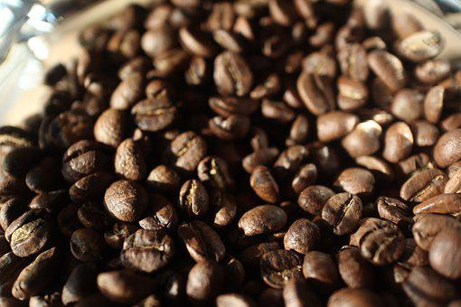 Coffee, Beans, Brown, Roasted, Cafe, Caffeine