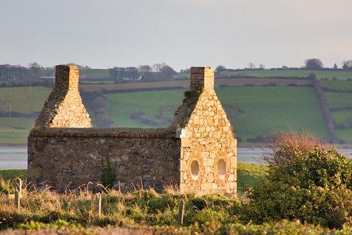 Ireland, Ruin, Abandoned, Building, Irish
