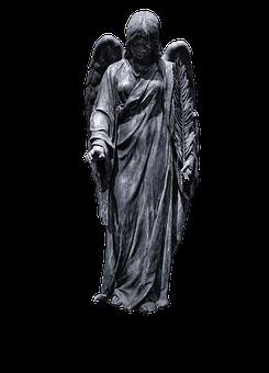 Statue, Sculpture, Angel, Figure, Wing, Cemetery, Woman