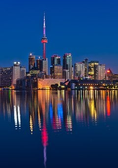 Canada, Canadian, Center, City, Cityscape, Cn, Cn Tower