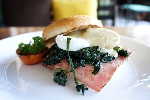 Brunch, Breakfast, Food, Egg, Healthy, Diet, Plate