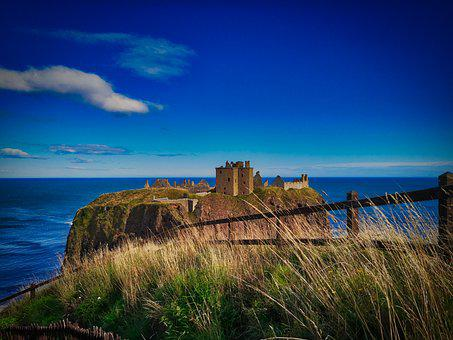 Castle, Ruin, Island, Fortress, Old, Building