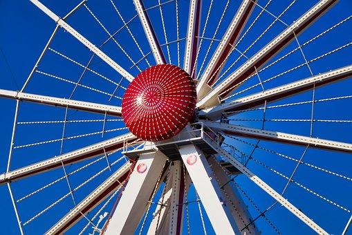 Ferris Wheel, Free Market, Bremen, Ride