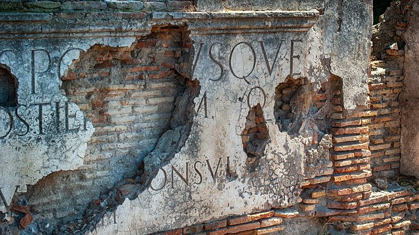 Italy, Ancient, The Ruins Of The, Ostia, Architecture