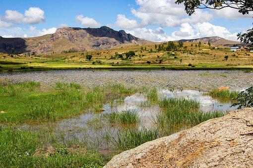 Travel, Holiday, Lakeside, Moor, Landscape, Mountain