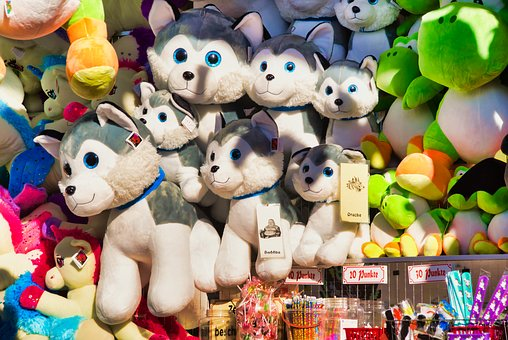 Fabric Dogs, Lot Shop, Free Market