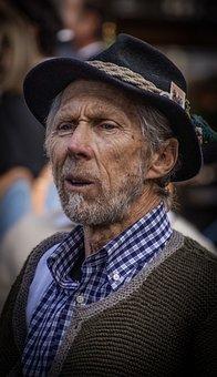 Man, Farmer, Strong, Seriocoraggioso, Person, Male