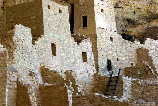 Cliff Palace Ruin, Cliff, Dwelling, Anasazi, Mesa