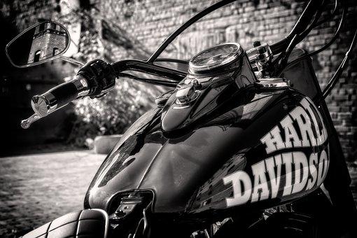 Motorcycle, Harley Davidson, Bike, Machine, Harley