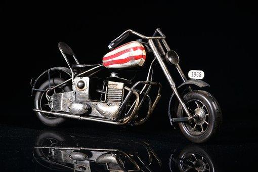 Motorcycle, Miniature, Moto, Toy, Replica