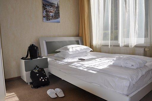 Bed, Number, Bedroom, Bright Room, Comfort, Hotel