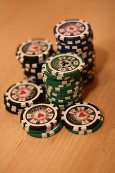 Poker, Poker Chip, Play Poker, Play, Gambling, Win