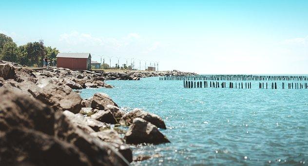 Black Sea, Water, Sea Water, Blue Water, Beach