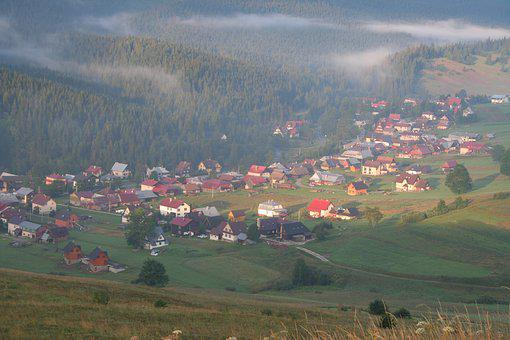 Slovakia, Zdiar, Mountain Town