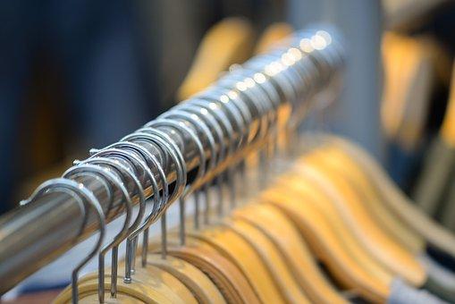Coat Hangers, Fashion, Clothes, Shop, Wardrobe, Store