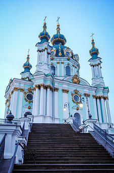 Kiev, Ukraine, Architecture, Travel, Building, City