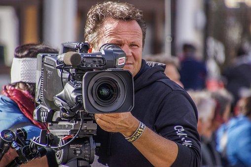 Cameraman, Sony, Room, Vidomaker, Video, Orf, Tv