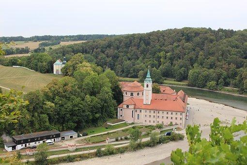 Weltenburg Abbey, Weltenburg, Monastery, Niederbayern