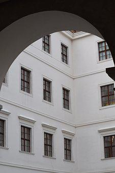 Building, Windows, Bratislava, Castle, Architecture
