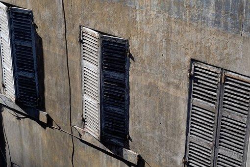Window, Shadow, Wall, Sunlight, Wood, Old, House, Mood