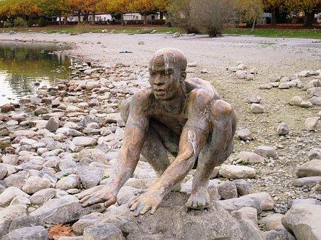 Sculpture El Nino, Radolfzell Am Bodensee, Art