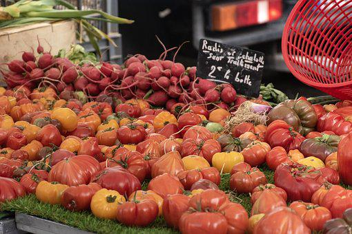 Tomatoes, Beets, Market Day, Provencal Market