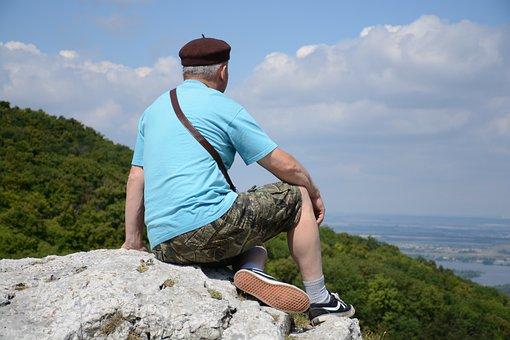 Mountains, Beret, Mountain, Landscape, Nature, Head