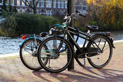 Bicycle, Transport, Amsterdam