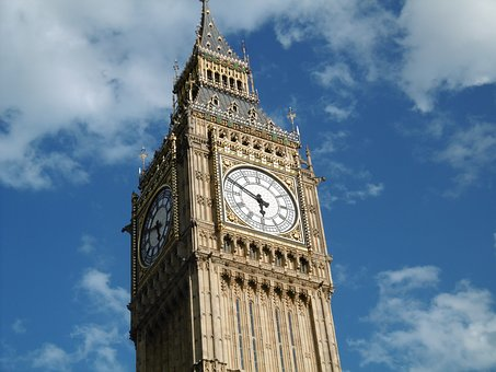 Architecture, London, Big Ben, Clock, Tower, England
