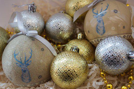Christmas Decorations, Christmas Tree, Toys