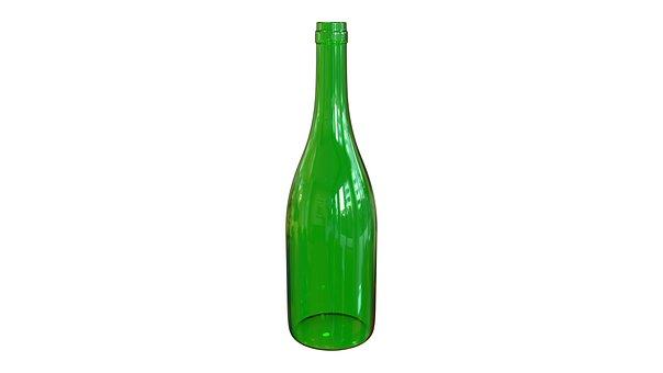 Bottle, Wine, Green, Vacuum, Barman, Bar, Shine